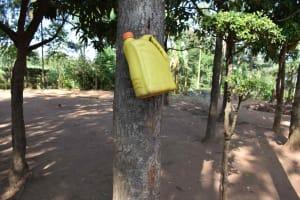 The Water Project: Iyala Community, Iyala Spring -  Handwashing Station