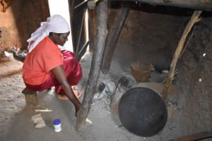 The Water Project: Iyala Community, Iyala Spring -  Inside Kitchen Cooking Area