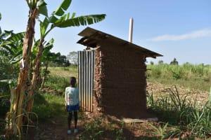 The Water Project: Iyala Community, Iyala Spring -  Latrines