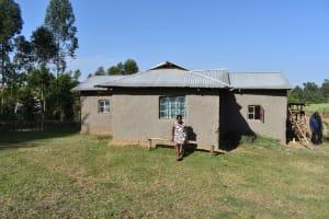 The Water Project: Iyala Community, Iyala Spring -  Mud Walled House