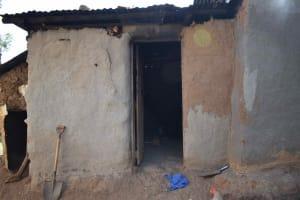The Water Project: Iyala Community, Iyala Spring -  Outside Kitchen