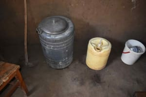 The Water Project: Iyala Community, Iyala Spring -  Water Storage Container