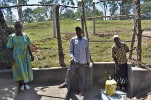 The Water Project: Luyeshe North Community, Reuben Endeche Spring -  Community Member Posing