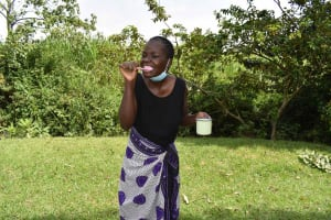 The Water Project: Luyeshe North Community, Reuben Endeche Spring -  Dental Hygiene Demonstration