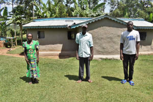 The Water Project: Luyeshe North Community, Reuben Endeche Spring -  Elected Leaders
