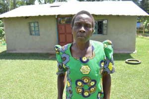The Water Project: Luyeshe North Community, Reuben Endeche Spring -  Leonida Imasa