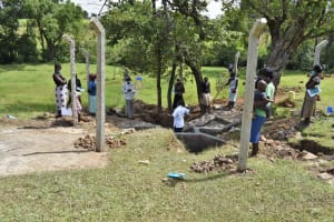 The Water Project: Luyeshe North Community, Reuben Endeche Spring -  Onsite Training