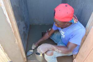 The Water Project: Kabinjari Primary School -  Latrine Floors