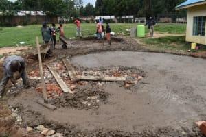 The Water Project: Kabinjari Primary School -  Foundation