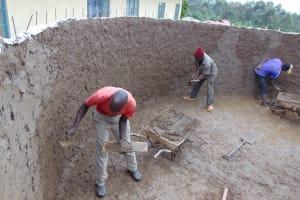 The Water Project: Kabinjari Primary School -  Inside Plastering