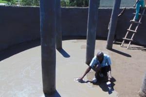 The Water Project: Kabinjari Primary School -  Plastering Floor