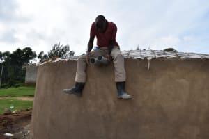 The Water Project: Kabinjari Primary School -  Fixing Overflow Pipes