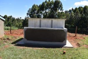 The Water Project: Kabinjari Primary School -  Completed Latrines