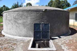The Water Project: Kabinjari Primary School -  Completed Tank