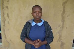 The Water Project: Kabinjari Primary School -  Everlyne V