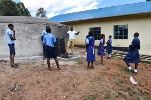 The Water Project: Kabinjari Primary School -  Onsite Training