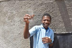 The Water Project: Kabinjari Primary School -  Celebrating A Drink