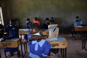 The Water Project: Kabinjari Primary School -  How To Cough And Sneeze