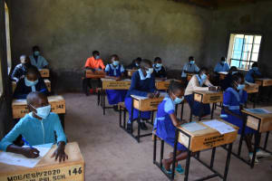 The Water Project: Kabinjari Primary School -  Listening To Training