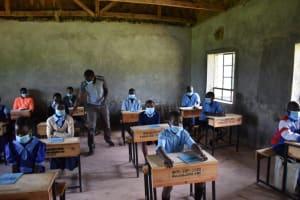 The Water Project: Kabinjari Primary School -  Training Begins
