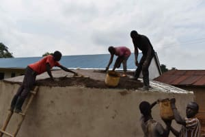 The Water Project: Friends Mudindi Village Primary School -  Dome Placement