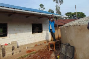 The Water Project: Friends Mudindi Village Primary School -  Guttering Works
