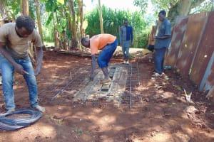 The Water Project: Friends Mudindi Village Primary School -  Latrine Set Up