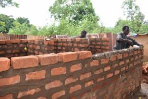The Water Project: Friends Mudindi Village Primary School -  Latrine Brick Works