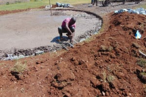 The Water Project: Friends Mudindi Village Primary School -  Tap And Outlet Setting