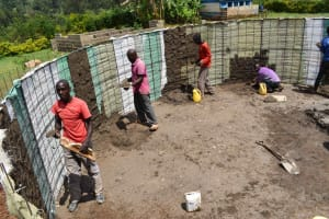 The Water Project: Friends Mudindi Village Primary School -  Plaster Work Inside