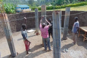 The Water Project: Friends Mudindi Village Primary School -  Plillar Setting