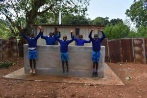 The Water Project: Friends Mudindi Village Primary School -  Boys Vip Latrines