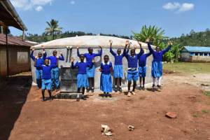 The Water Project: Friends Mudindi Village Primary School -  Celebration At Water Point
