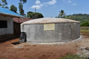The Water Project: Friends Mudindi Village Primary School -  Completed Water Tank