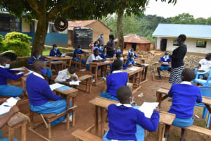 The Water Project: Friends Mudindi Village Primary School -  Opening