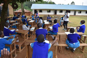 The Water Project: Friends Mudindi Village Primary School -  Safe Greetings