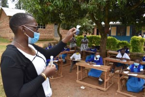 The Water Project: Friends Mudindi Village Primary School -  Soap Reagents