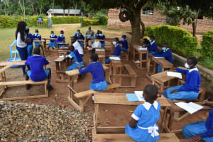 The Water Project: Friends Mudindi Village Primary School -  Training In Action