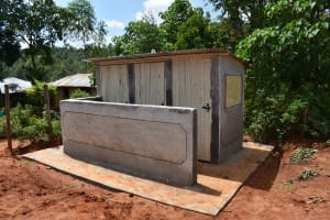 The Water Project: Friends Mudindi Village Primary School -  Completed Vip Latrine