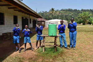 The Water Project: Friends Mudindi Village Primary School -  Handwashing Station
