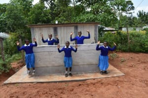 The Water Project: Friends Mudindi Village Primary School -  Happy For Latrines