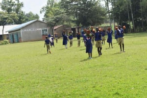 The Water Project: Petros Primary School -  Pupils Bring In Bricks