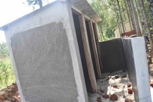 The Water Project: Petros Primary School -  Latrines Almost Done