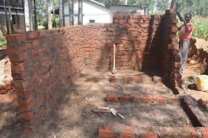 The Water Project: Petros Primary School -  Latrines In Progress