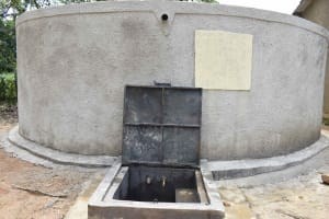 The Water Project: Petros Primary School -  Completed Rain Tank