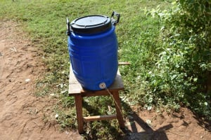 The Water Project: Petros Primary School -  Handwashing Station