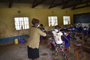 The Water Project: Petros Primary School -  Covid Greeting