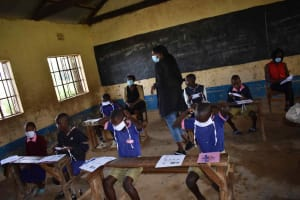 The Water Project: Petros Primary School -  Masking Up