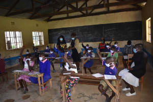 The Water Project: Petros Primary School -  Participants