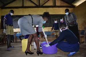 The Water Project: Petros Primary School -  Soapmaking